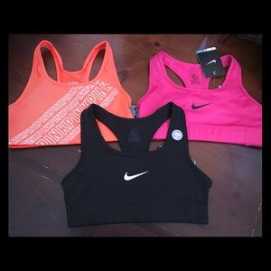Lot Sports Bras VS NIKE New!  SZ XS